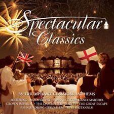 Spectacular Classics (NEW 3CD) Holst Beethoven Vivaldi Grieg Gershwin Elgar Arne