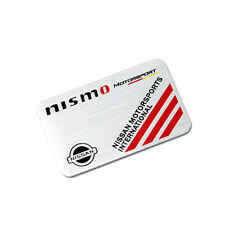 Aluminum NISMO Car Emblem Sticker Modified Badge Decal fit for Nissan GTR R33LM