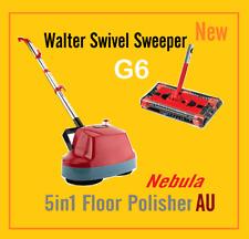 New 5 in1 Floor Polisher + Walter Swivel Sweeper G6 Package Sale
