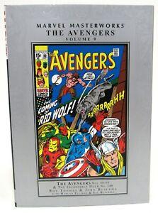 Marvel Masterworks The Avengers Volume 9 HC Hard Cover