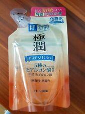 Japan Rohto Hada labo Gokujyun Premium Hyaluronic hydrating toner 170 mL Refill
