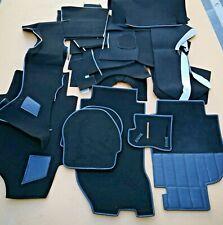 Porsche 993 95-98 C2 C4 Turbo Stock Replacement Black Plush Interior Carpet Set