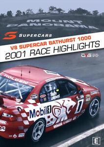 V8 Supercars - 2001 Bathurst 1000 Race Highlights DVD   Holden Skaife BRAND NEW