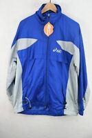 ASICS Mens Jacket RUNNING RAIN BREAKER KAYANO Zipper VINTAGE Large 90's DN2RL