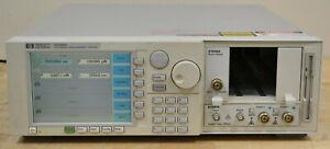 Agilent 8164A Lightwave Mainframe w/81640A Tuneable Laser, 81632A Sensor