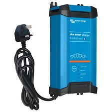 Victron 30A 12V Blue Smart IP22 mains battery charger with Bluetooth (UK plug)