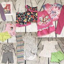 Toddler Girls Clothing Lot 3T Spring Summer Fall Short Tops Leggings Dress