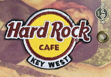 Hard Rock Cafe KEY WEST FL 2016 Classic HRC Logo PATCH on Card NEW! Iron/Sew ON