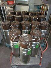 Liquidation Lot Of 12 Liberator Pressurized Liquid Oxygen O2 Tanks