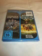Blu-ray Sherlock Holmes + The Land that Time forgot  2 Filme NEU in OVP