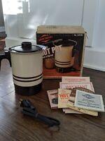 Vintage WEST BEND Hot Pot - Instant Electric 36 oz New Open Box