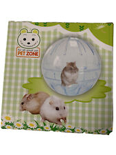 New Pet Zone For All Small Pets Exercise Hamster , Mini Hamster Ball Clear E85
