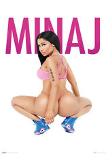 Official Nicki Minaj Squat Maxi Poster 91.5 x 61 cm YMCMB Young Money Only Barbi