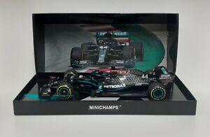 Model Car Die Cast 1:18 MINICHAMPS F1 Mercedes AMG Hamilton 2020 Modeling