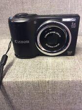 Canon Black 16MP Powershot A810 Digital Camera