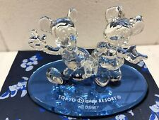 Disney  Minnie & Mickey Mouse A Walking TOKYO RESORT Glass
