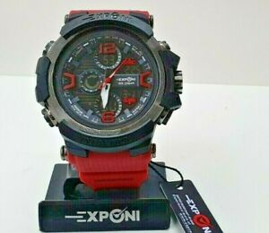Men's Watch Sports Exponi Art. Intaction - Col. Red - Discount -50%