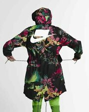 Nike Sportswear NSW Men's Palm Floral Printed Parka XL Multi Full Zip