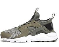 Nike Air Huarache Run Ultra SE ® ( GS UK Sizes 4 & 4.5 ) River Rock / White NEW