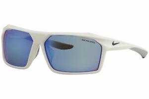 Nike Men's Traverse EV1033 EV/1033 104 Shiny White/Grey Sport Sunglasses 65mm