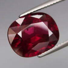 8.64Ct.Very Good Color! Natural BIG Cherry Red Rhodolite Garnet Africa