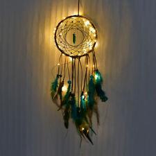 Hollow Hoop Dream Catcher LED Lights Up Fairy Dreamcatcher Kids Room Hanging