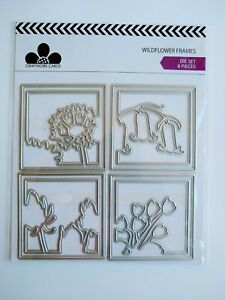 Craftwork Cards Die Set - Wildflower Frames  - 8 Dies - Rare, Discontinued Set