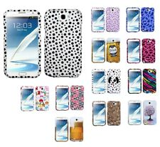 Design Snap on Cover Protector Case For Samsung Galaxy Note II T889/I605/N7100