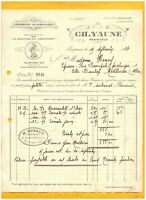 """PERIGUEUX (24) FOIE GRAS & TRUFFES / LA SEMEUSE DU PERIGORD """"C. YAUNE"""" en 1933"""