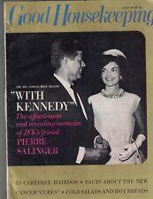 Good Housekeeping Magazine August 1966 John F Kennedy Syd Hoff