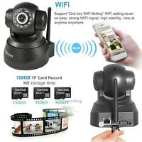1280* 720P HD Wireless WiFi CCTV IP Network Home Surveillance Security IR Camera