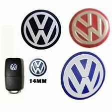 LOGO EMBLEMA PEGATINA PARA LLAVE MANDO VW 14 mm 14mm en ALUMINIO