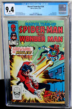 Marvel Team-Up #136 Spider-Man/Wonder Man CGC NM 9.4 White Pages 3813998019