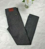 Mens VANS OFF THE WALL V76 Slim Fit Skinny Mid Rise Grey Jean In Size W32 L32