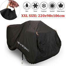 Xxl Black Waterproof Atv Cover Storage Universal For Polaris Honda Yamaha Suzuki