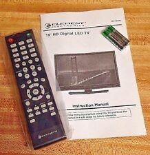 Original Element ELEFW193 ELEFJ191 ELEFT195 ELEFW195 ELEFS191 TV Remote Control