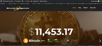 Automated Bit Coin AUTO UPDATING Crypto Coins Online Wordpress Website BUSINESS
