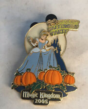 Wdw Cinderella Pumpkins 2005 Disney Pin Mickey's Not So Scary Halloween Party