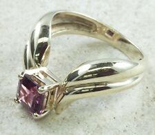 Designer Strellman Rhodolite Garnet Ring 14K Yellow Gold Size 6 1/4 WHOLESALE