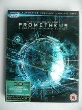 Prometheus (3D + 2D Blu-ray, 2012, + Digital, 3-disc Collector's Edition) + slip
