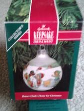 Betsey Clark 1991 6Th In Series Hallmark Glass Christmas Ball Ornament orig box!