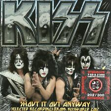KISS - SHOUT IT OUT ANYWAY BEST OF KISSWORLD 2017 - 7CD+2 DVD BOX-SET N°202/300