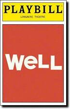 Well Color Playbill  Lisa Kron  Jayne Houdyshell  Daniel Breaker  Colman Domingo