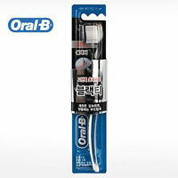 2Pcs Oral-B Ultra Thin Black Tea Tooth Brush Extra Soft Deep Clean Teeth N_v