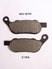 HARLEY DAVIDSON FLSTF Fat Boye 08 - 11  REAR brake pads X134
