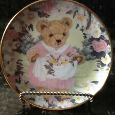 Franklin Mint Plate, Teddy's Spring Bouquet by S. Bengry, (Holder Not Included)