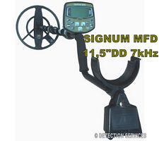 También conocido como signum MFD MF SF D tec Detector De Metales bobina 11,5 DD