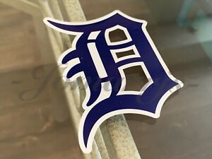 "Detroit Tigers Baseball Team Logo MLB Sticker Decal Motor City Kitties *4""-18""*"
