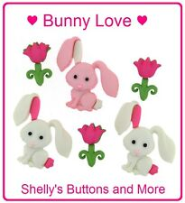Jesse James Buttons ~ Dress It Up ~ BUNNY LOVE 9358 ~ Sewing ~ Crafts ~ Spring