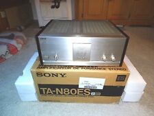 Sony ta-n80es MKIII AMPLIFICATORE bolide OVP, Top ben tenuto, Champagne, 2j. GARANZIA
